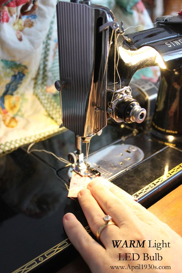 LED Light Bulb For The Singer Featherweight 40 40 Sewing Inspiration Led Bulb For Singer Sewing Machine