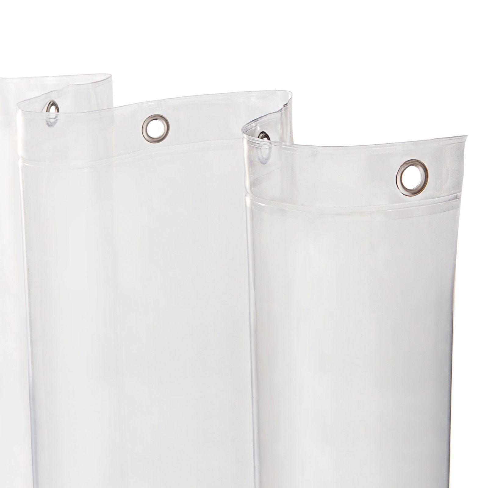 Kenney Heavyweight Mildew Resistant Peva Shower Curtain Liner Clear Shower Liner Shower Waterproof Liner
