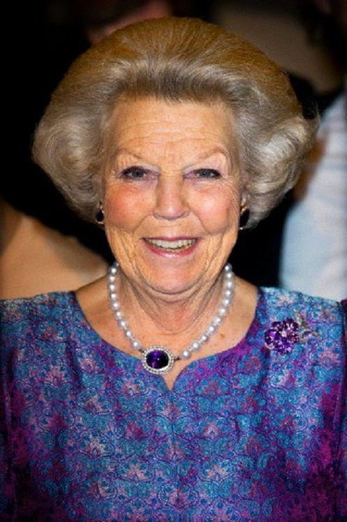 Dutch Princess Beatrix attends ballet gala in Amsterdam, 20.01.14
