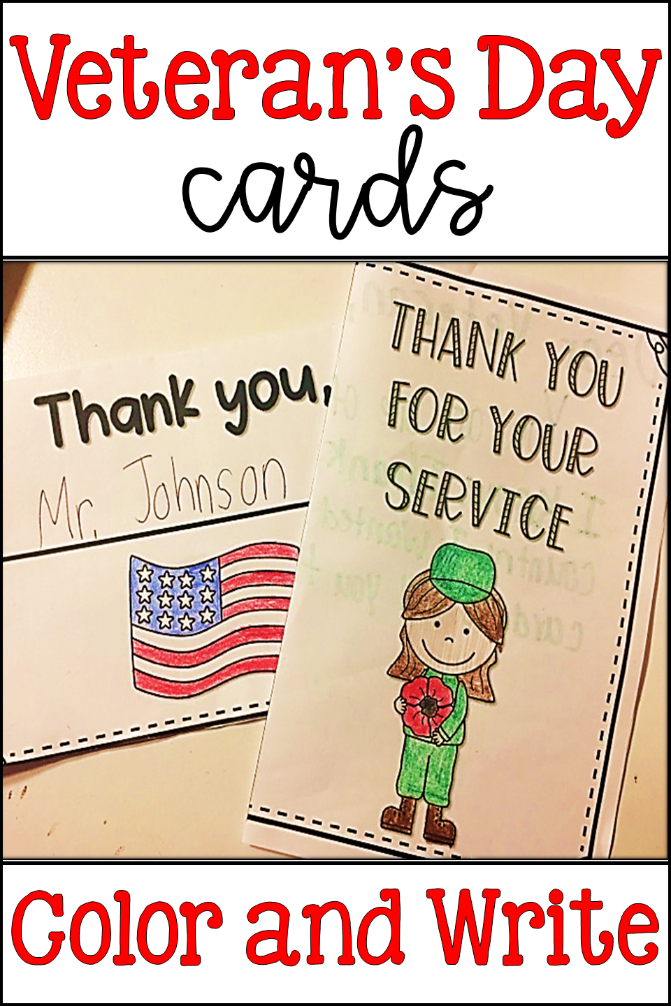 veteran's day cards  thank you cards  veteran's day