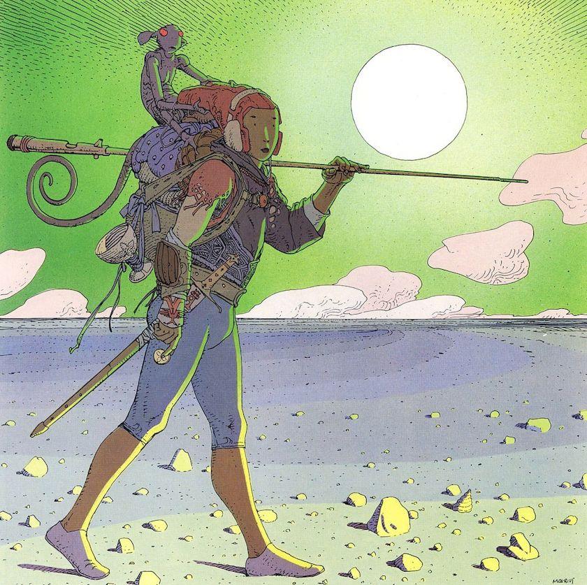 grafiktrafik In Search of Moebius comic strip illustrator ...