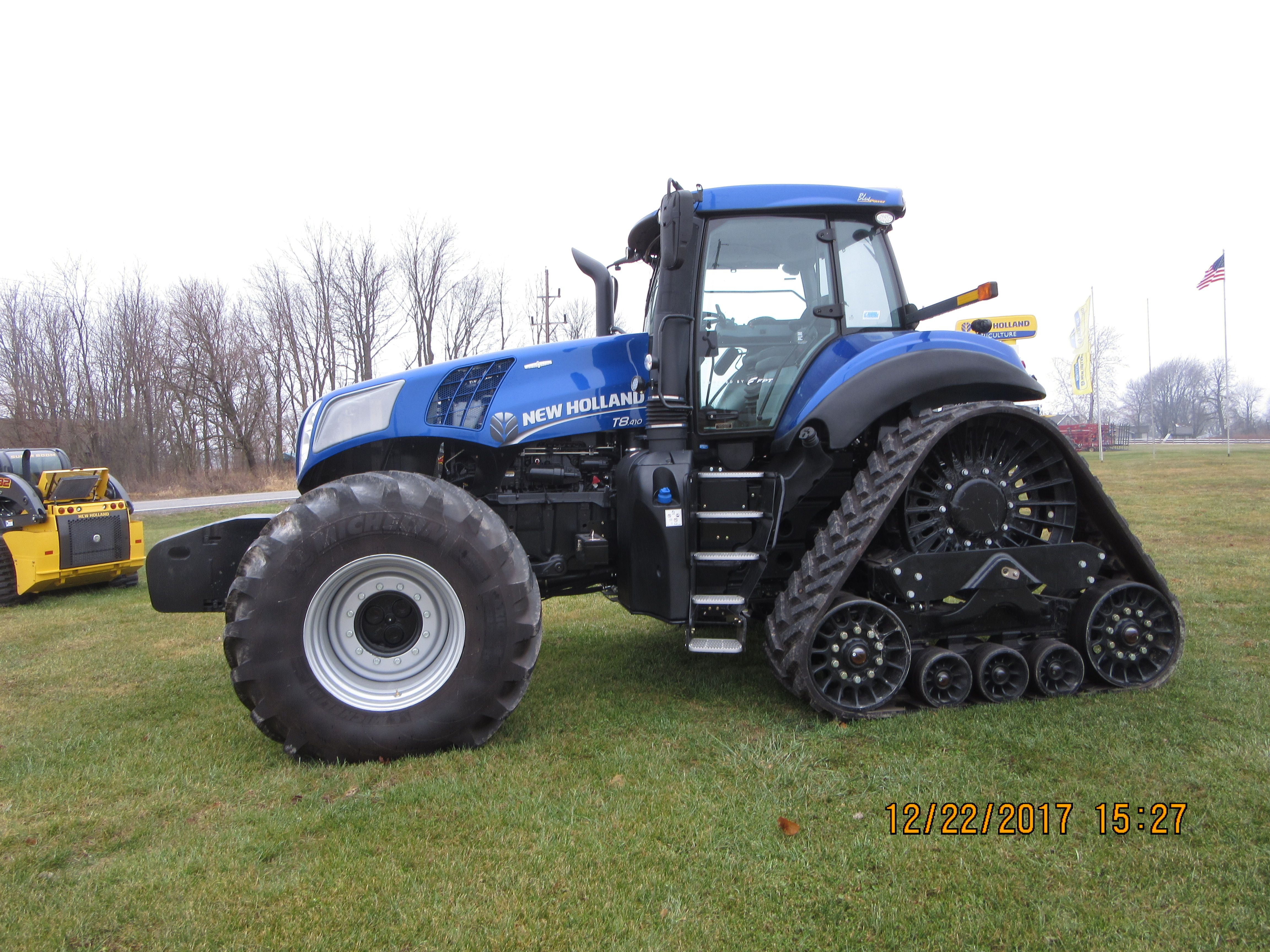 New Holland T8 410 Smart Trax Ford Tractors Tractors New Holland