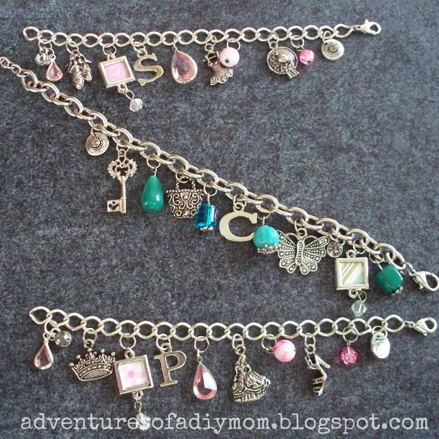 How To Make Charm Bracelets Adventures Of A Diy Mom Diy Charm Bracelet Jewelry Inspiration Charm Bracelet
