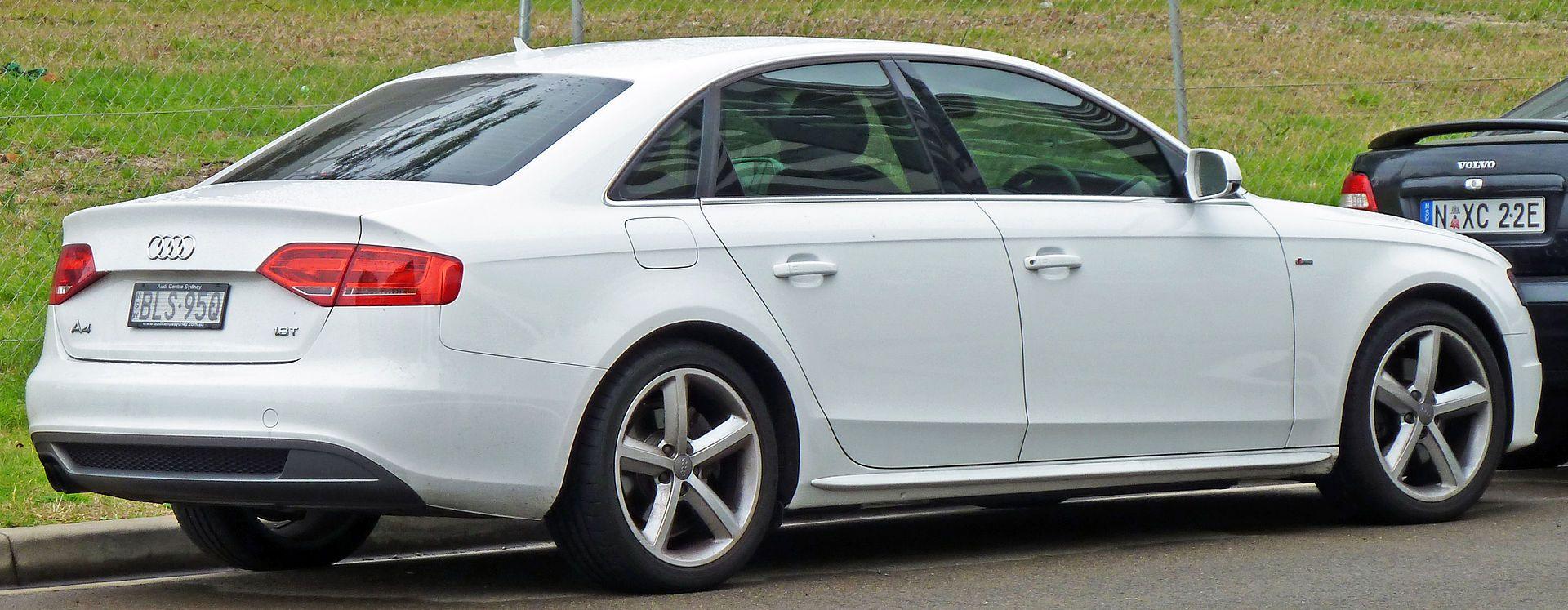 2008 2010 Audi A4 8k 1 8 Tfsi Sedan 01 Audi A4 Wikipedia Audi A4 Audi 2017 Audi A4