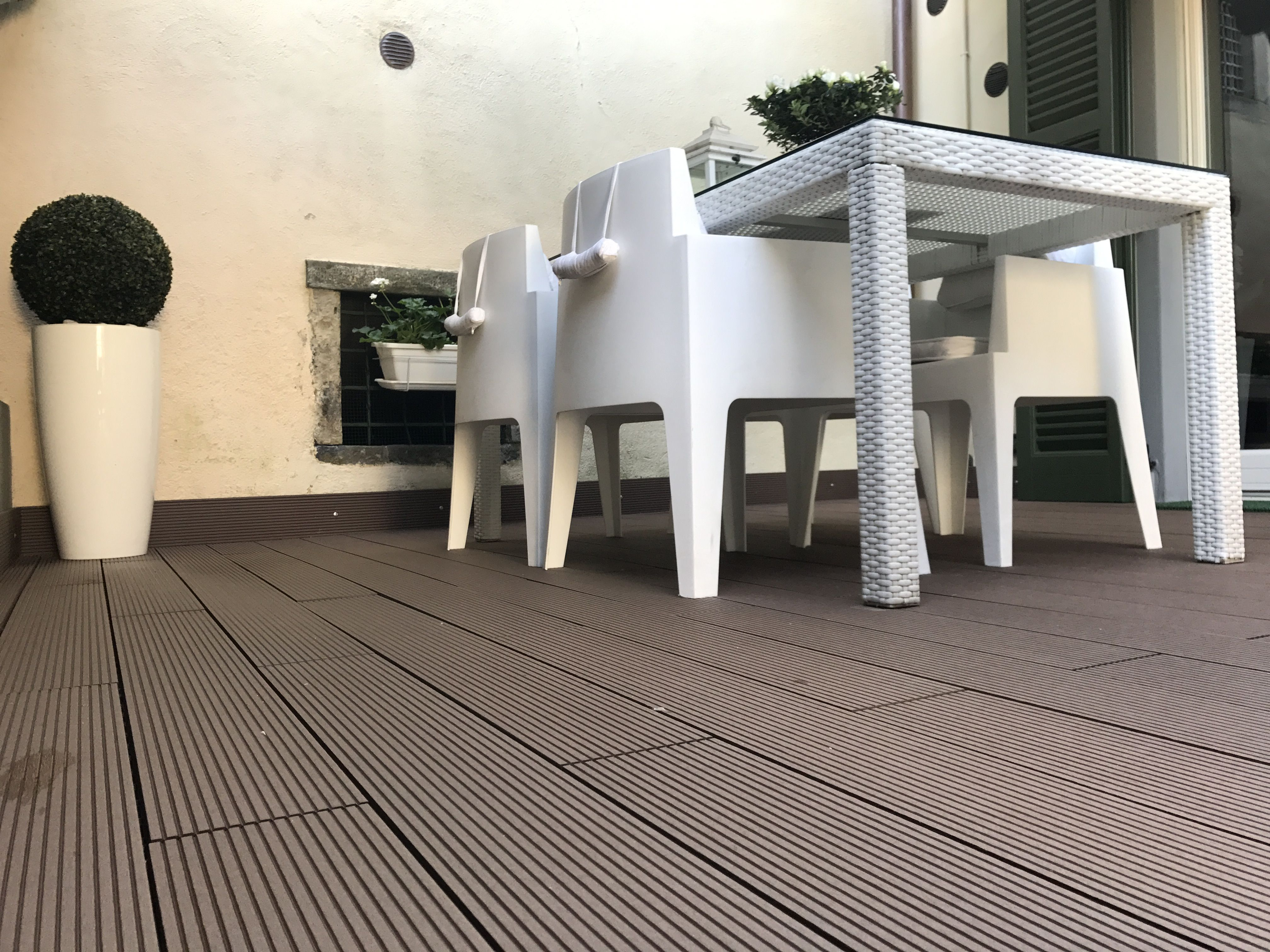 Nuovo deck per terrazzo | Arredamento