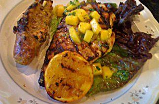 Grilled Chicken with Mango Chutney