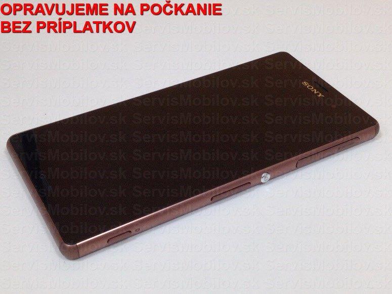 Servis SONY Xperia Z3 D6603 : Výmena displeja a dotykovej plochy SONY Xperia Z3 D6603