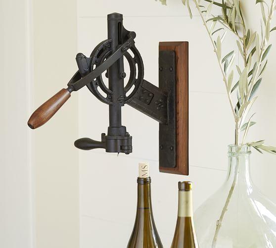 Vintner S Wall Mount Wine Opener With
