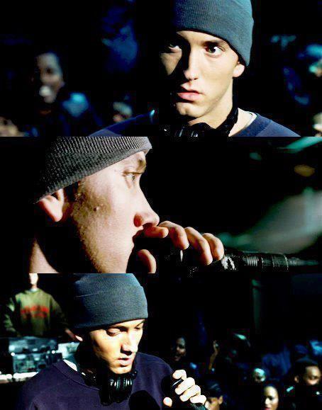 """8 Mile"" best movie, greatest man Eminem"