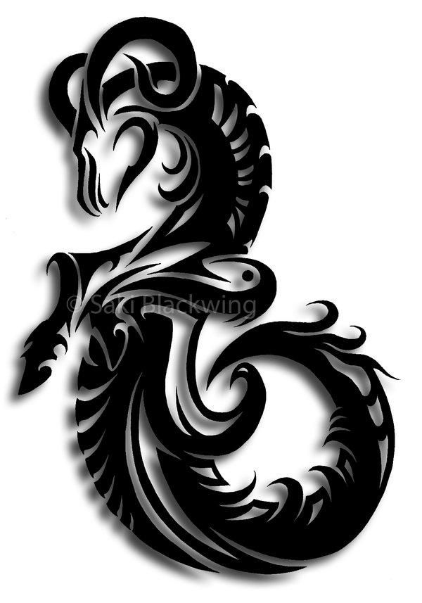 Aries Dragon Symbol Dragons Pinterest Aries Symbols And Dragons