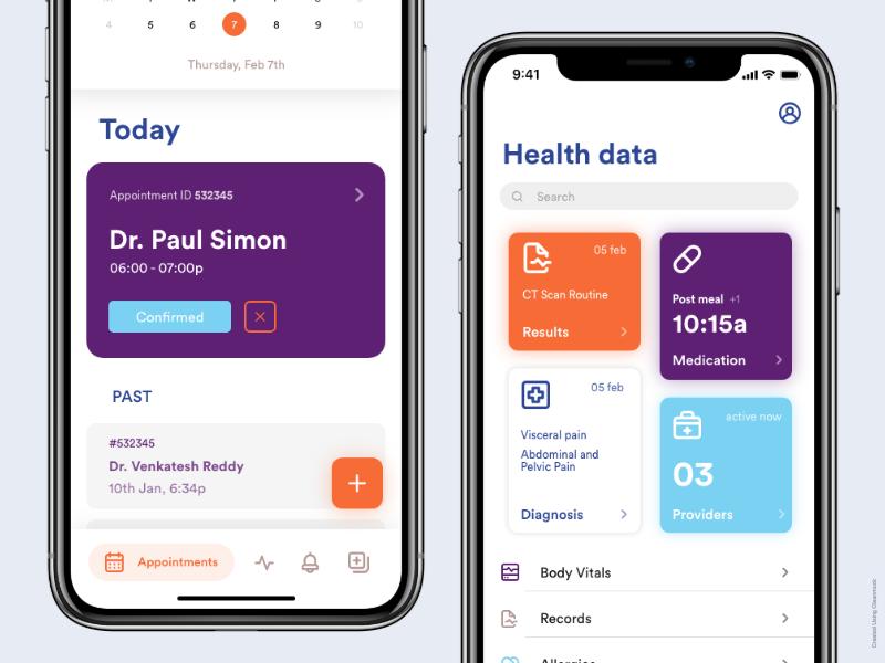 Hospital Information System for Patients Medical app