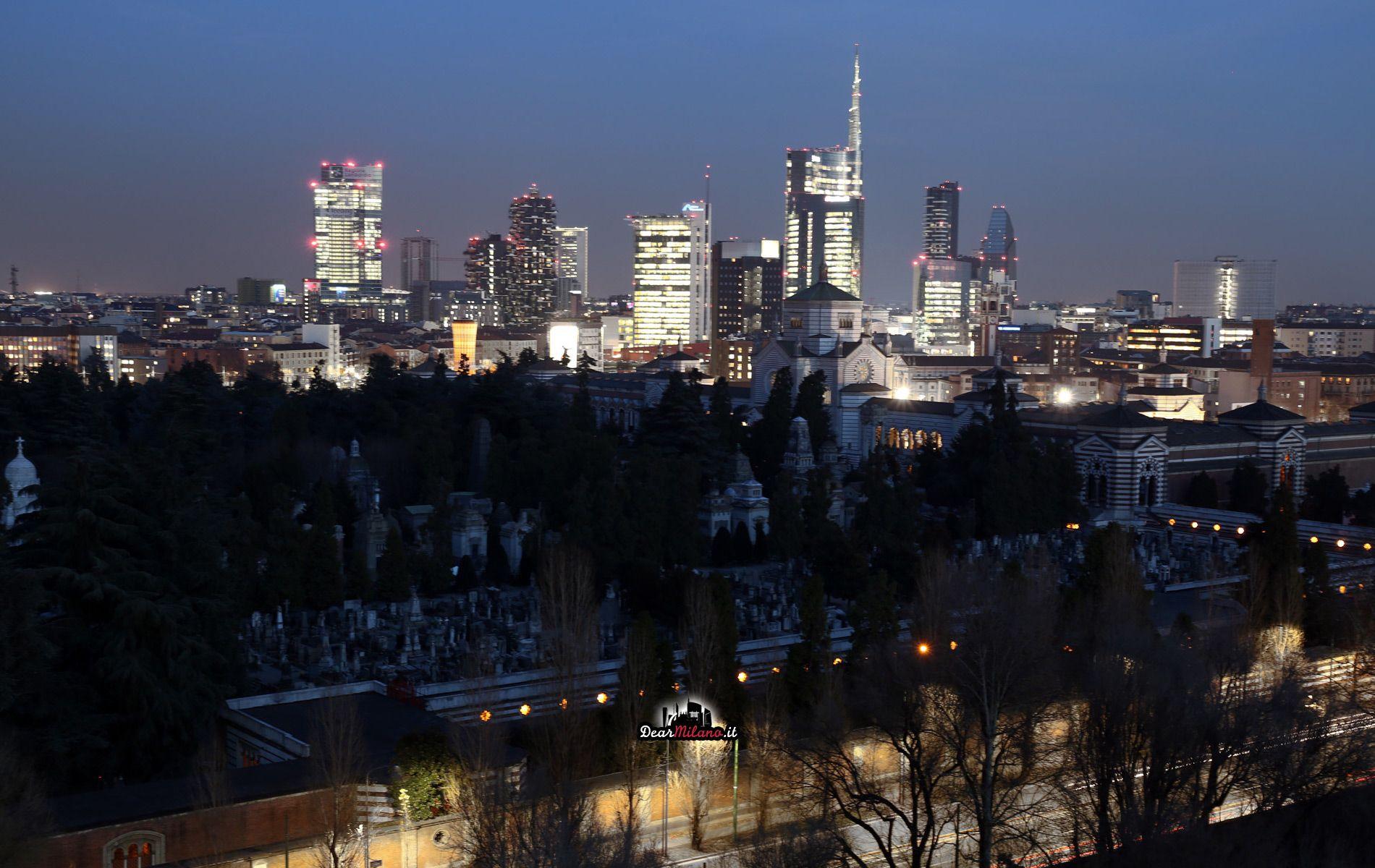 Grattacieli di Milano. Porta Nuova Skyline