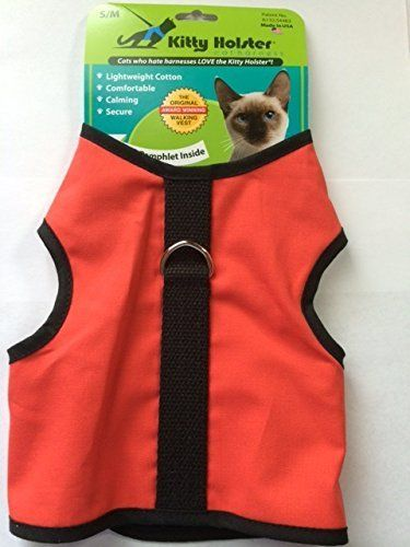 Kitty Holster S M Coral Startling Review Available Here Cat Apparel With Images Cat Harness Cat Clothes Cat Pet Supplies