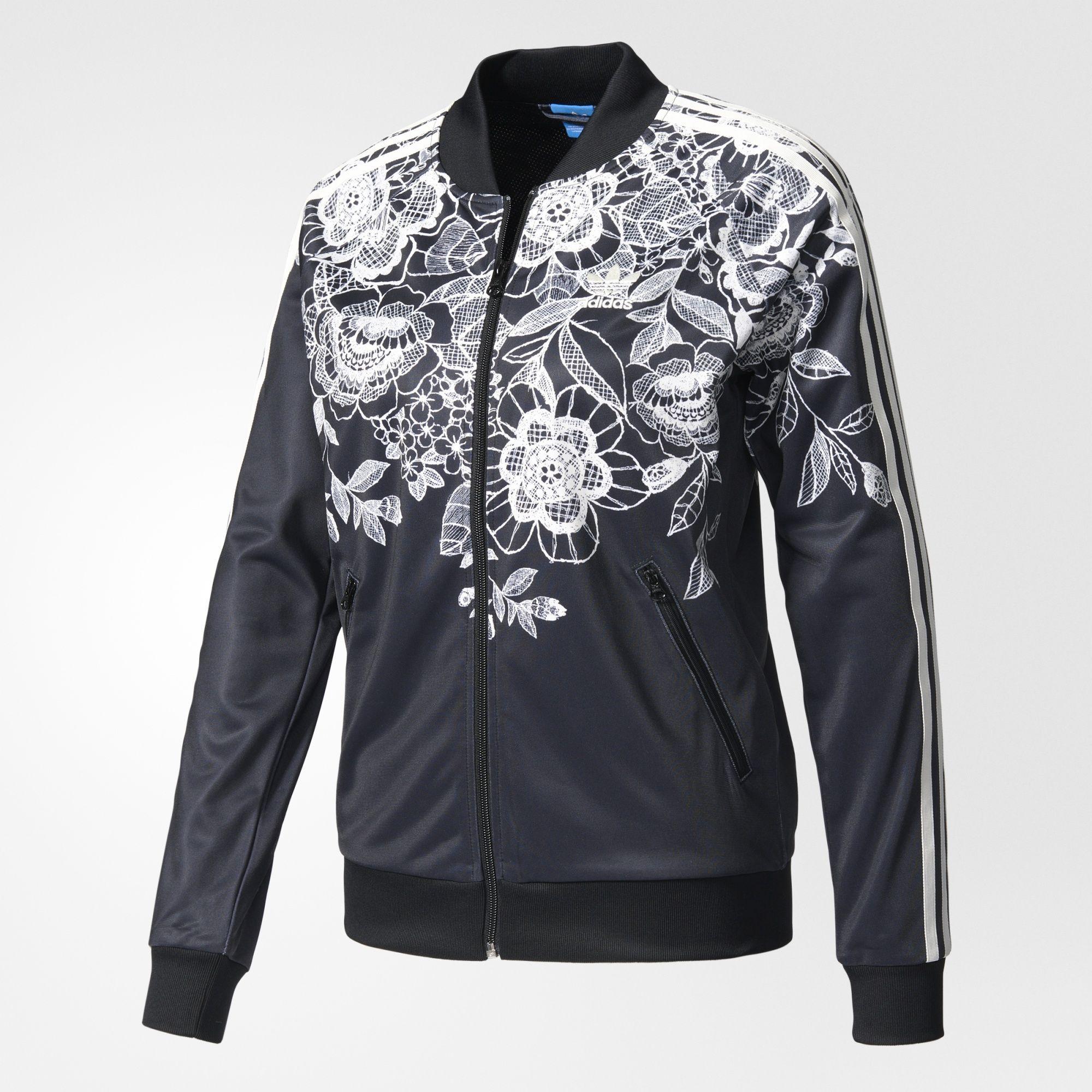 adidas - Florido Superstar Track Jacket   Style   Adidas, Jackets ... c0ac22e73e