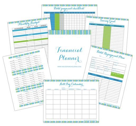 FREE financial planner to help you with the 52 weeks to eliminate - Download Budget Spreadsheet