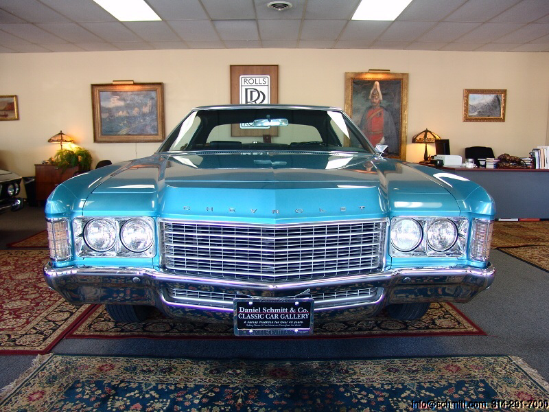 1971 CHEVROLET IMPALA CUSTOM COUPE – Daniel Schmitt & Co. Classic Car Gallery