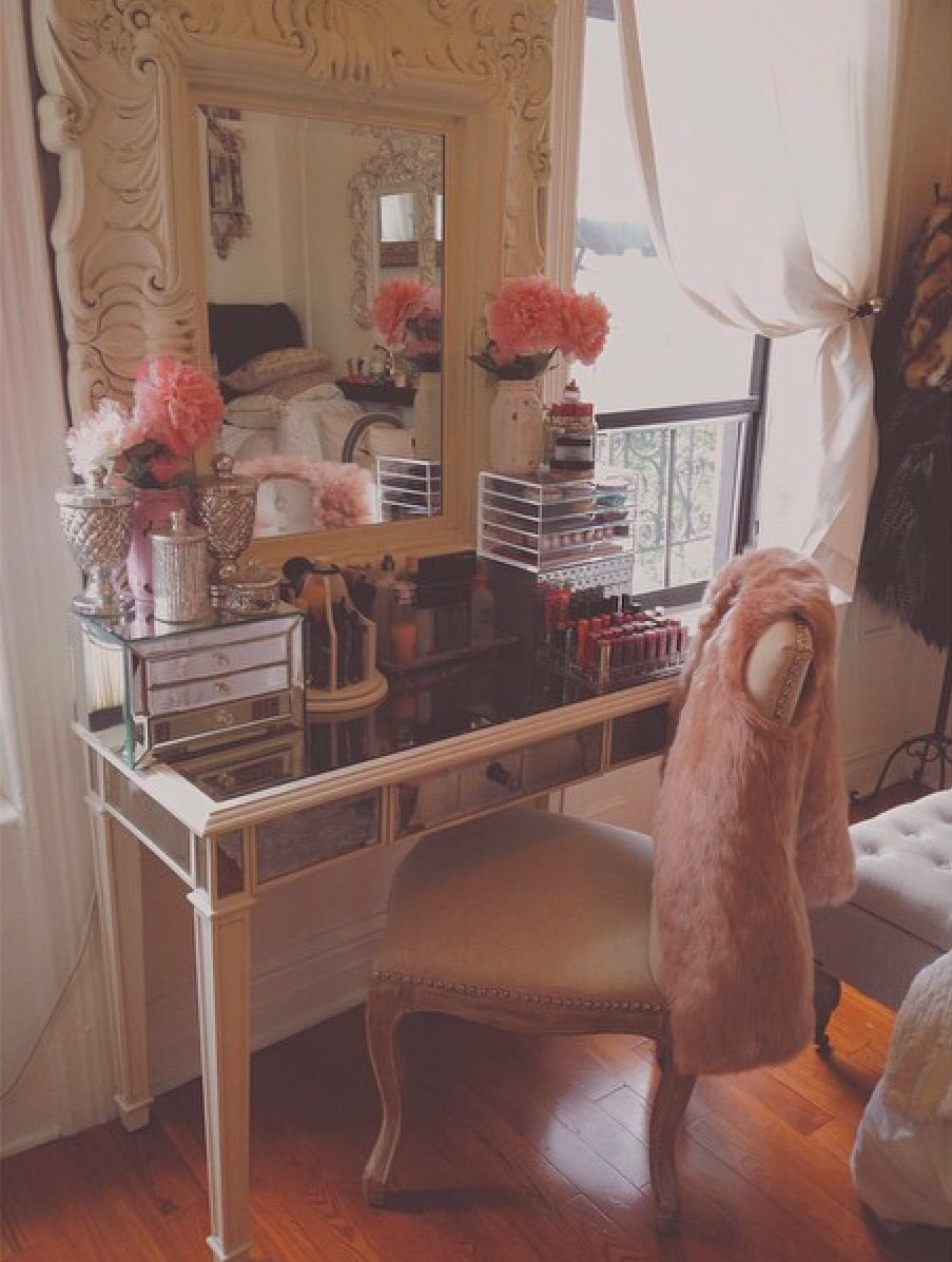 Pier 1 Hayworth Collection Vanity For My Makeup Remodel Bedroom