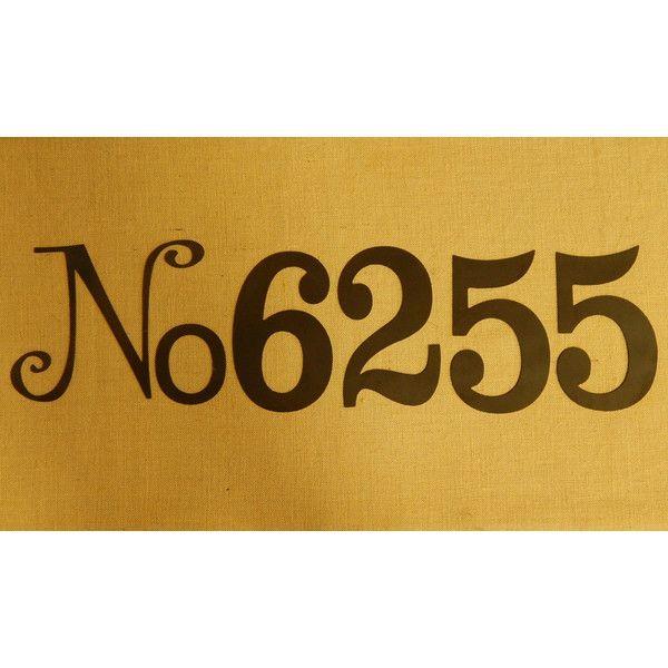 10 No and Number Door Number Metal House Number Metal Art Address ...