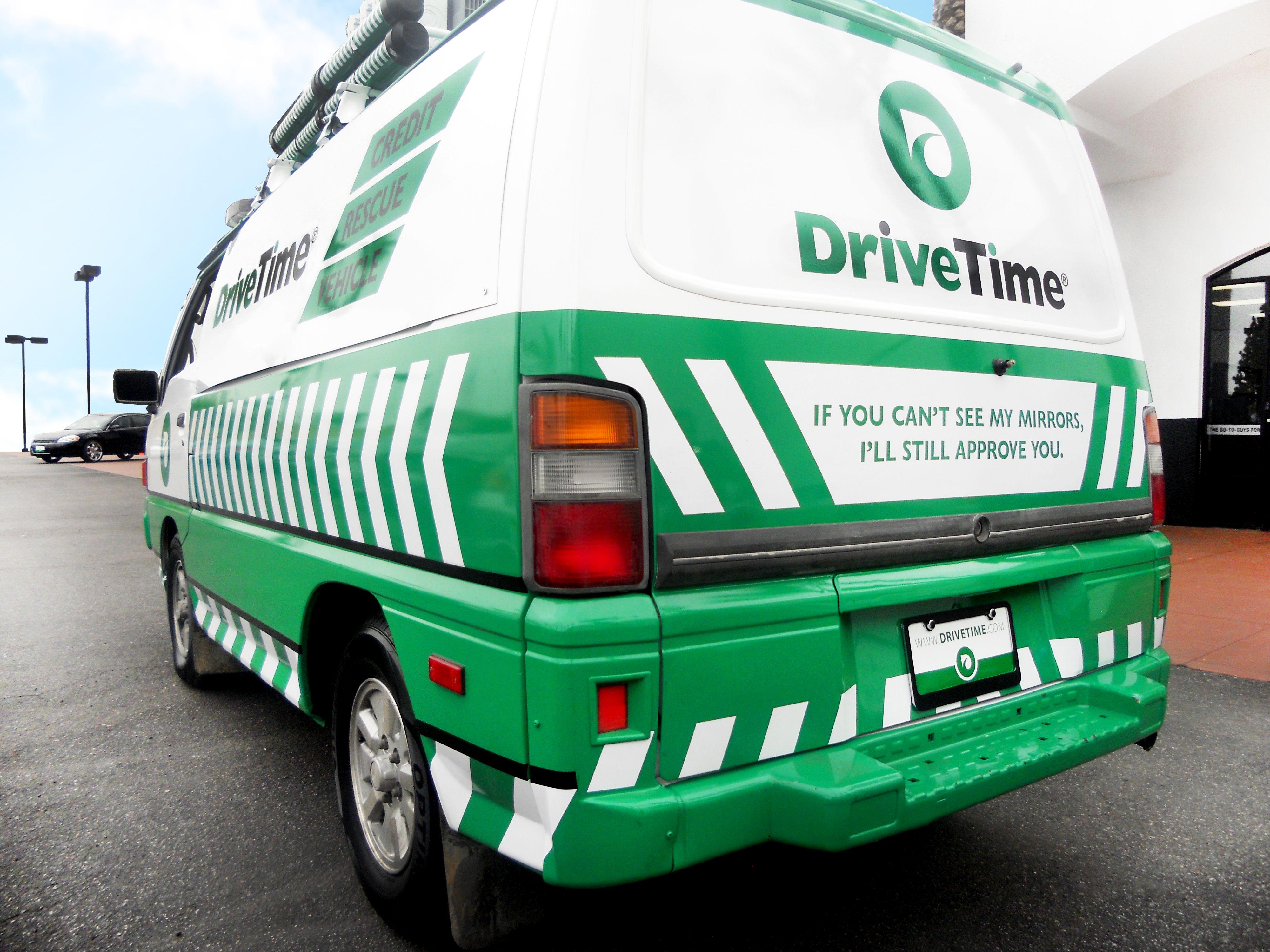 "The ""official"" DriveTime anti flimflammer van"