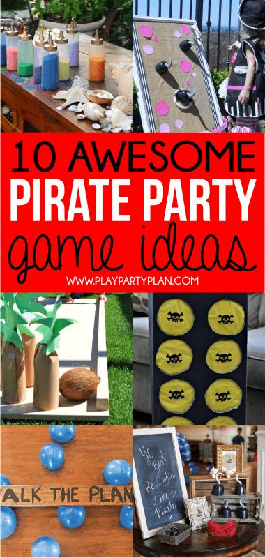 Photo of Die ultimative Sammlung von Ideen für Piratenpartys Essen, Dekorationen & Spiele
