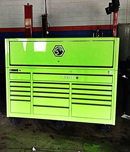 What Does Garage Mean: Toolbox Of The Day: Mean Green.