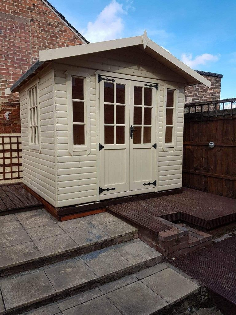 Garden shelter ideas home  Pin by Robert Pearson on SUMMERHOUSE HOME OFFICE SHEDS MANCAVE
