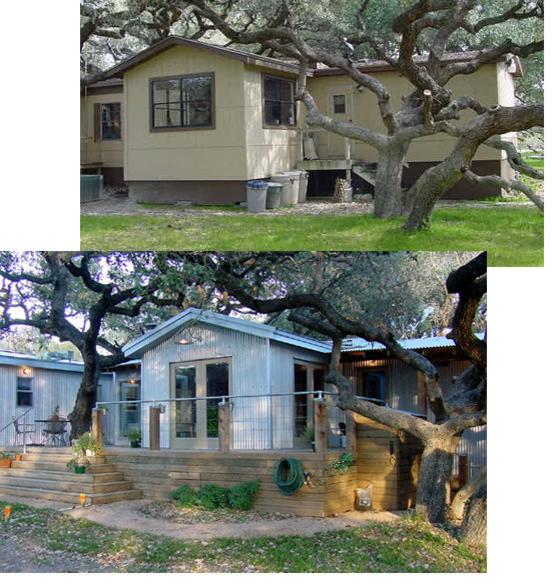 The Texas Trailer Transformation Exterior Home Reno Ideas