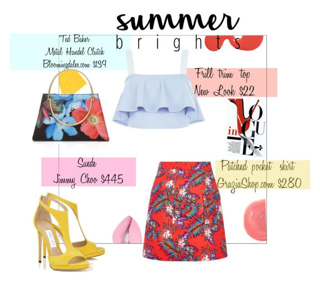"""Summer Brights"" by daisslovebeauty ❤ liked on Polyvore featuring House of Holland, New Look, Rituel de Fille, Ted Baker and summerbrights"