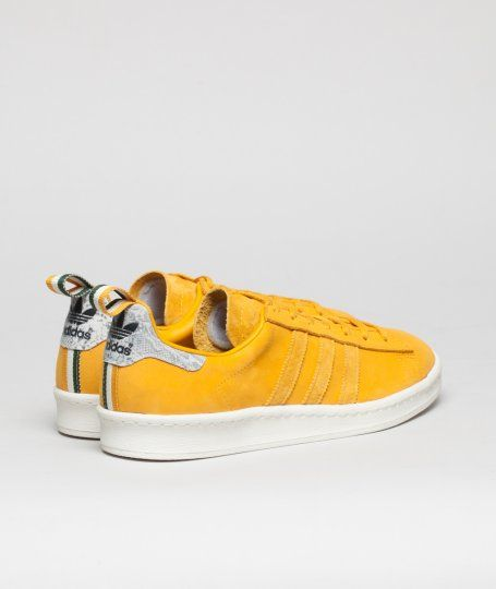 A new pair of adidas Campus 80's here in a tidy mustard nubuck and tonal 3 stripe.