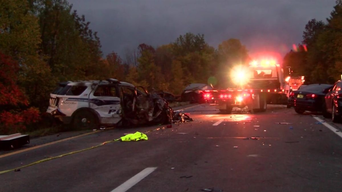 Five young people are dead following a crash with a wrong-way driver on Interstate 89 in Williston, Vermont State Police said.