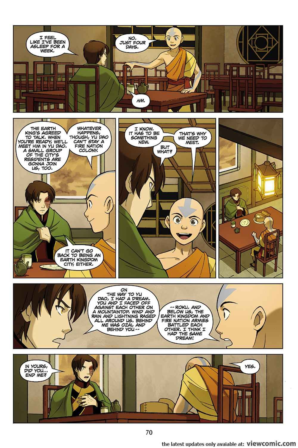 Avatar The Last Airbender The Promise Part 3 2012 Viewcomic Reading Comics Online For Free 2019 Avatar The Last Airbender The Last Airbender Avatar