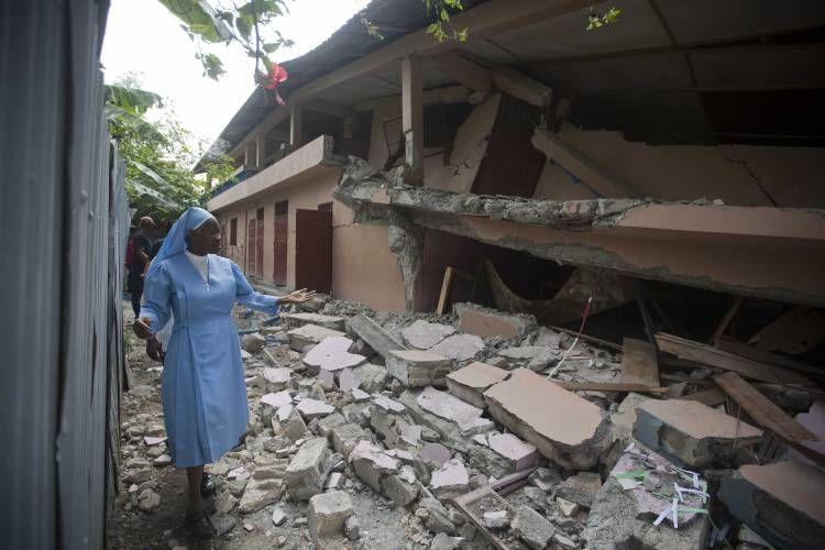 Deadly earthquake hits Haiti Earthquake, Haiti, Aftershock