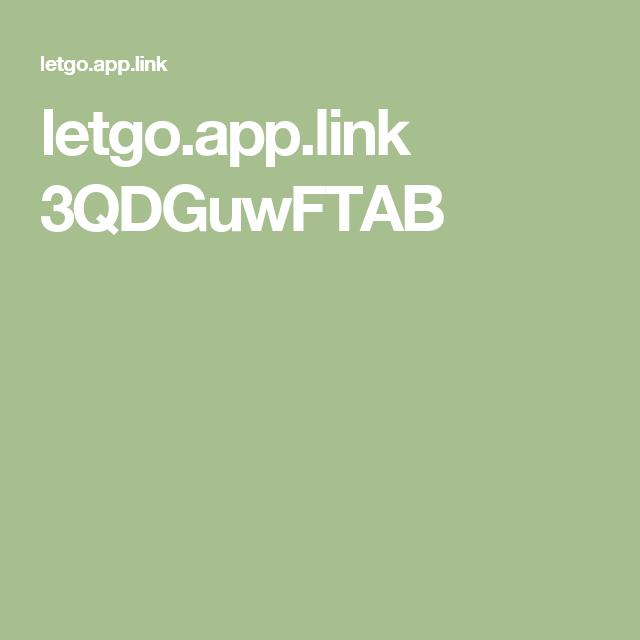 letgo.app.link 3QDGuwFTAB