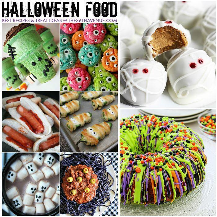 halloween best treats and recipes - Treat Ideas For Halloween