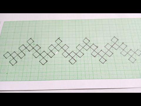 Border Line Design ||Sindhi Work Hand Embroidery (