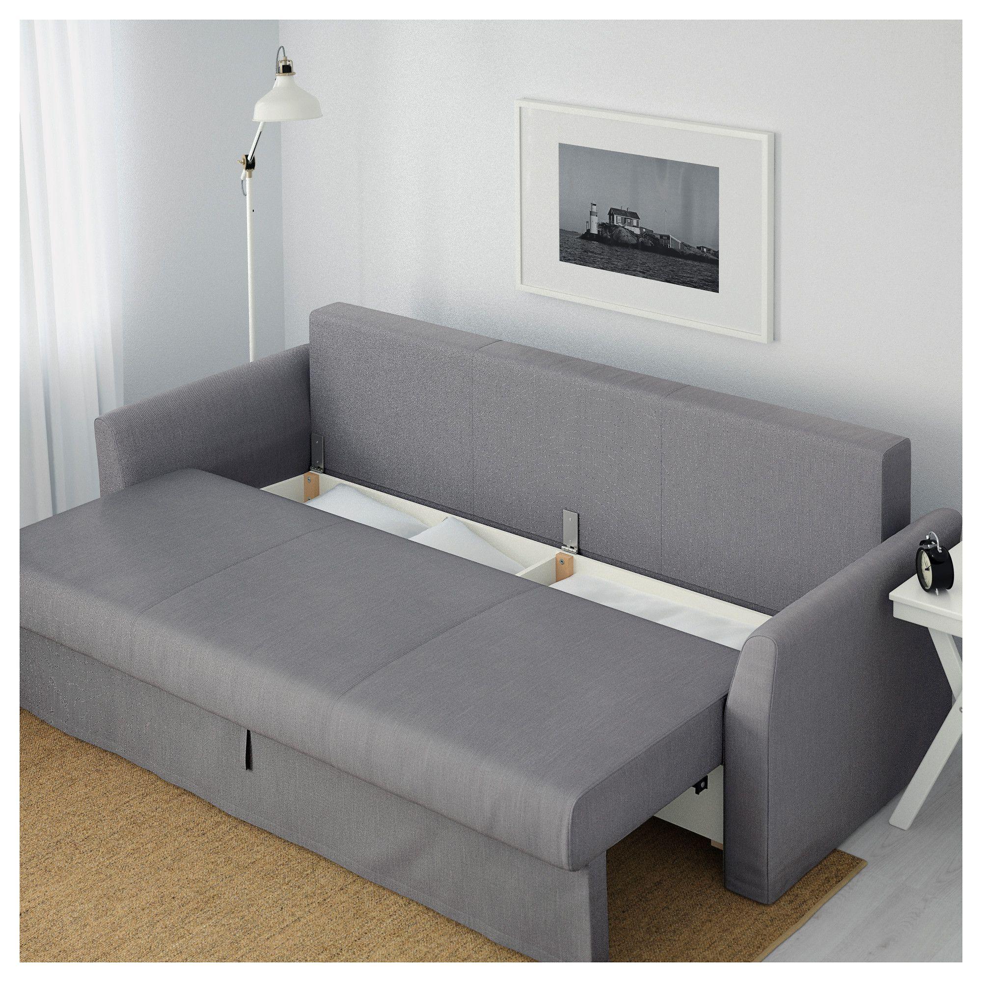 Holmsund Sofa Bed Nordvalla Medium Gray Ikea Sofa Bed Ikea