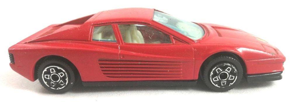 Burago 1 43 Ferrari Model Testarossa Red Bburago Diecast Scale 1 43 Car Italy Burago Ferrari Ferrari 348 Ferrari Diecast