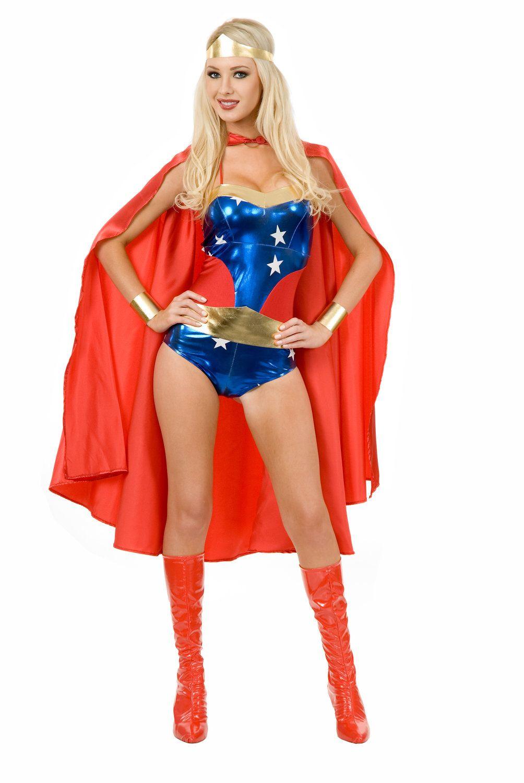 Sexy Wonder Woman Superhero Costume Wonder Woman Costumes - Mr ...
