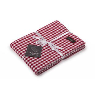 Romantic Red & White Tablecloth