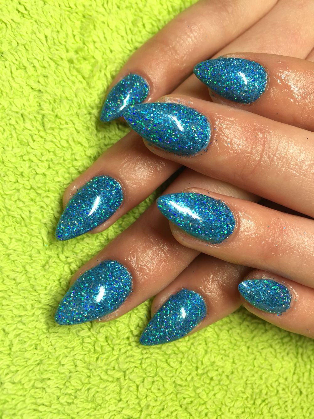 Blue rockstar | Nail designs pictures | Pinterest | Nail designs ...