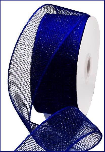 2 5 Inch Navy Blue Deco Mesh Rs200019 Deco Mesh Supplies Deco