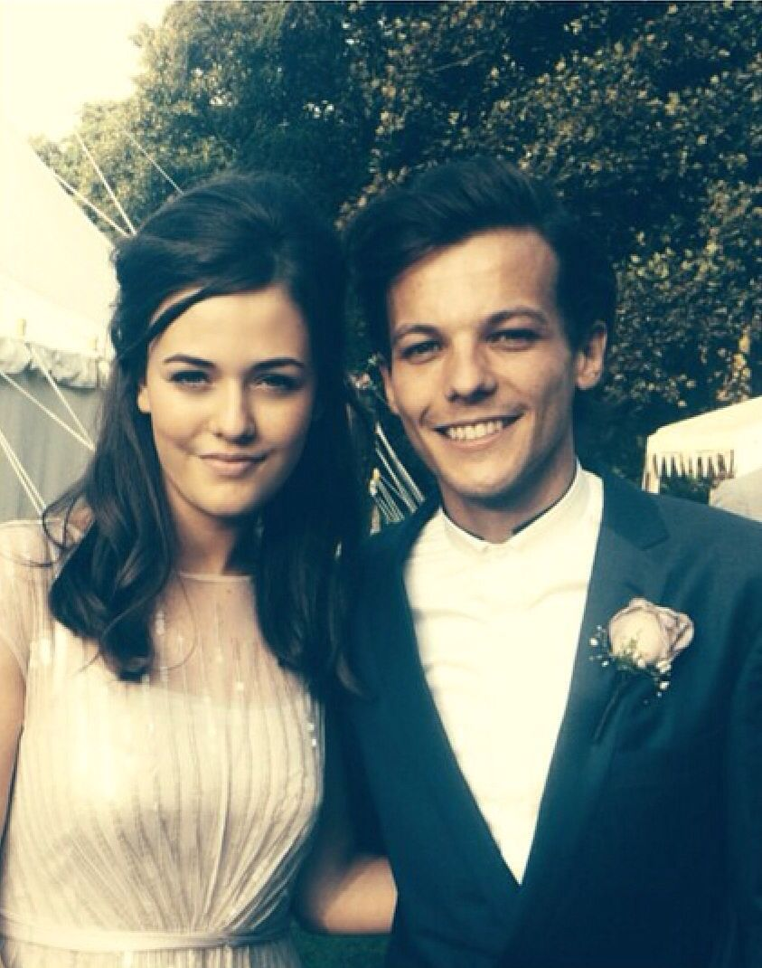 Image result for louis tomlinson and sister wedding