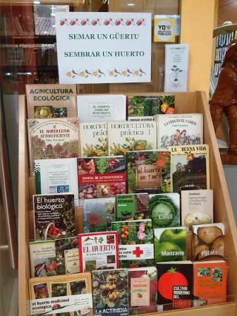 Sembrar un huerto / Biblioteca de Candás