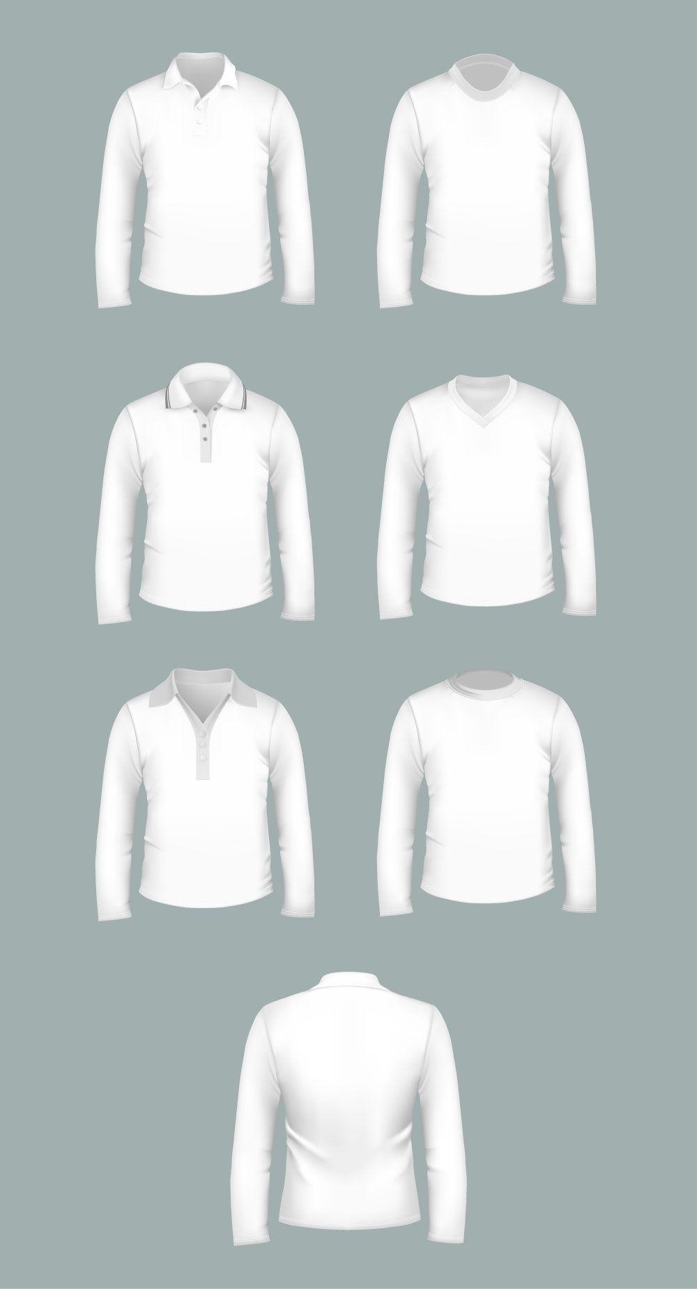Download T Shirt Templates Pack Psd Vector Files Graphicsfuel Shirt Mockup Shirt Template Free Mockup