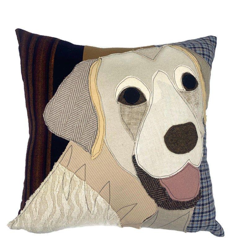 White Labrador Dog Pillow Pet Pillow Dog Decor Dog Lover