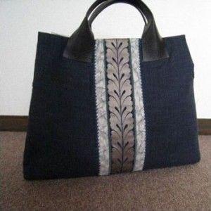 Bolsa Obi, usada com cinto-faixa