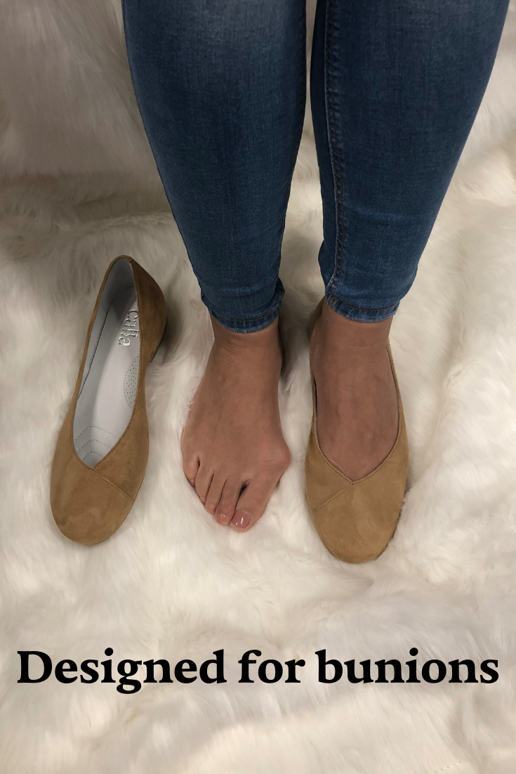 3f0dcdbfd051 Stylish flats for bunion sufferers. Conceal and comfort your bunions