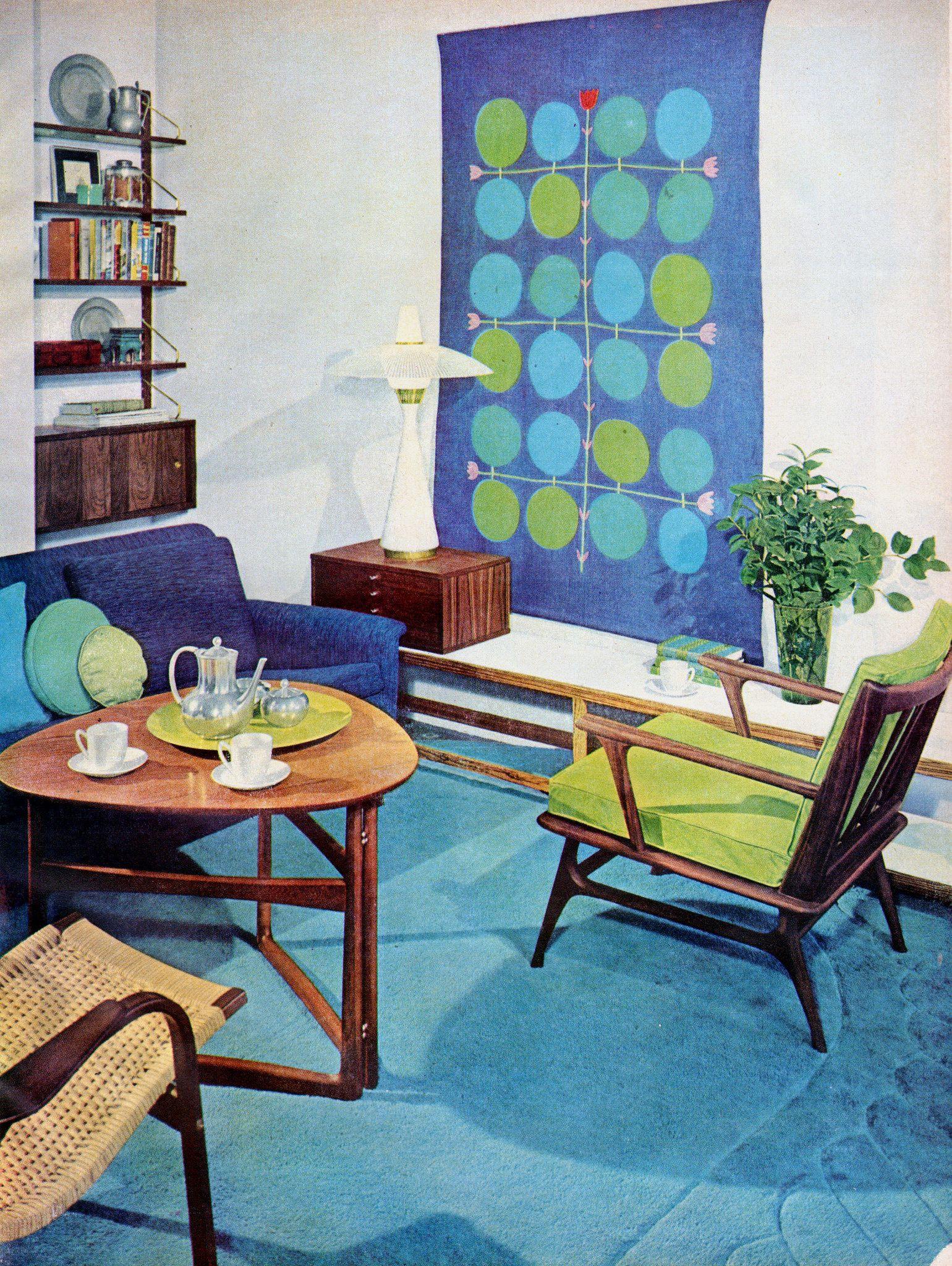 Httpsflickrpcn3Iqu - Modern Room 1958