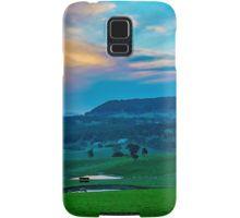 Mount Franklin Sunset Re-Visited Samsung Galaxy Case/Skin
