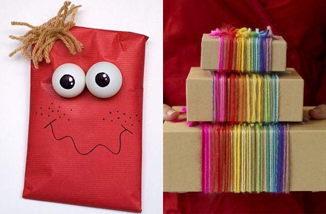 Envoltorios originales y divertidos para sus regalos de for Envoltorios para regalos